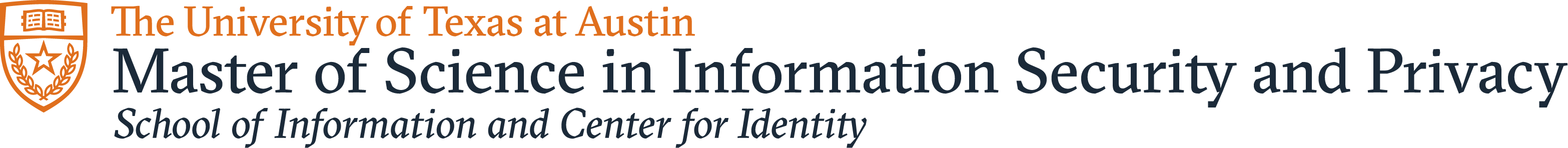 Master of Science in Information Security and Privacy logo
